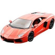 Nuevo Lamborghini Aventador Lp700-4 1/18 Scale (naranja)