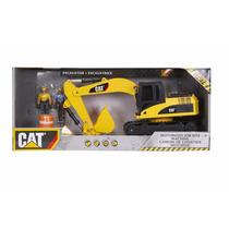 Excavadora Caterpillar Con Operadores, Sonidos Y Movimientos