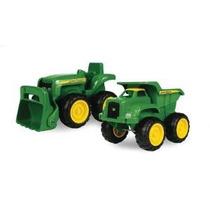 2pk John Deere Sandbox Vehículos, Camiones Y Tractores
