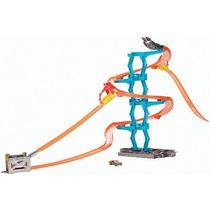 Hot Wheels Pista Constructor Spiral Sky Speedway Track Set