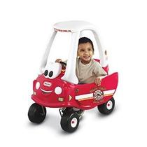 Little Tikes Incendios Y Salvamento Cozy Coupe Ride-on