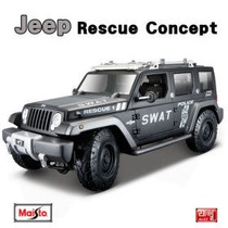 Jeep Rescue Concept Maisto No Burago Escala 1:18