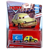 Cars Acer With Luggage Cart 3 De 6 Airport Adventure 2015
