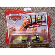 Cars Disney Doc Hudson & Sheriff. Mini Adventures.