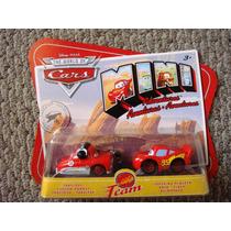 Cars Disney Fabulous Hudson & Mcqueen. Mini Adventures.
