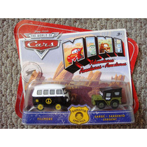 Cars Disney Fillmore & Sarge. Mini Adventures.