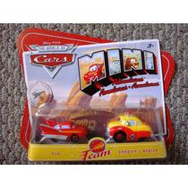 Cars Disney Flo & Sheriff. Mini Adventures.
