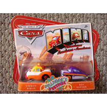 Cars Disney Sheriff & Doc Hudson. Mini Adventures.
