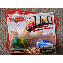 Cars Disney Tractor & Doc Hudson. Mini Adventures.