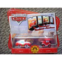 Cars Disney Sally & Lizzie. Mini Adventures.