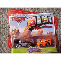Cars Disney Boost & Snot Rod. Mini Adventures.