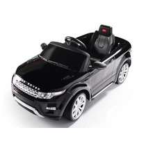 Carrito Electrico Land Rover Negro Control Remoto Mp3 Luces