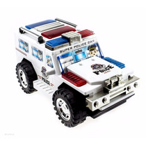 Wolvol Electric Police Car Toy With Lights And Sirens