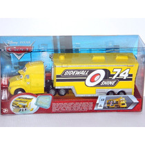 Cars Disney Sidewall Shine. Hauler. Trailer.