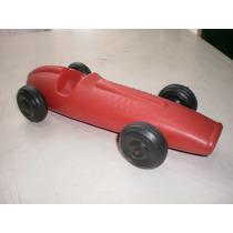 Antiguo Carro De Carreras De Los Años 60s D Plastico Inflado