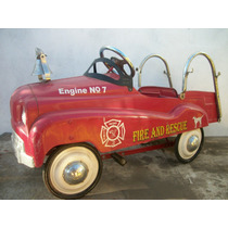 Tm.carro De Pedal Fire & Rescue