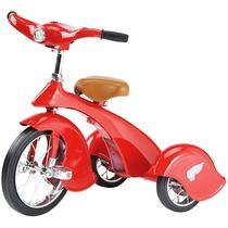 Triciclo Carrito De Pedales Tipo Antiguo Retro