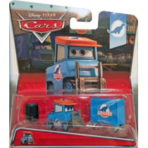 Cars Luke Pettlework Dinoco 6 De 8 Disney Pixar Pitty