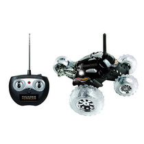 Sharper Image Monster Control Remoto Spinning Coches - Negro