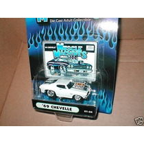 Tb Muscle Machines White 69 Chevelle #01-24