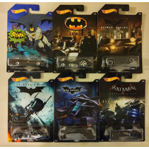 Hot Wheels Batman Coleccion Exlusivo De Walmart
