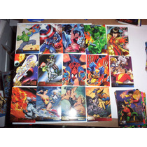 Marvel Vs Dc 1995 Set Base 100 Tarjetas