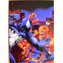 Spider Man Vs Puma / Marvel Comics Pepsi Cards 34 / Tarjeta