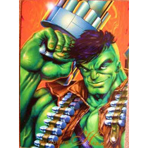 Hulk / Marvel Comics Pepsi Cards 53 / Tarjetas