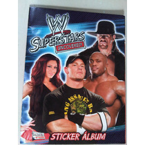 Lucha Libre Wwe Albun Usado Con 34 Estampas Superstars