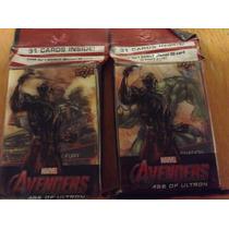 2 Paquetes Con 31 Tarjetas De Avengers Upper Deck 3 D Blade+