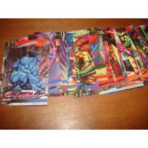 Trading Cards Marvel Flair Anual 1995 Set De 46 Tarjetas
