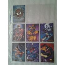 1996 Spiderman Eternal Evil Canvas Set De 6 Tarjetas
