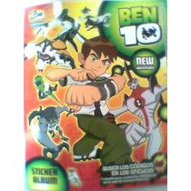 Albun Ben 10 Casi Lleno Nuevo Cartoon Network Con Poster