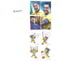 Set 9 Estampas Especiales Álbum Brasil 2014 Panini, L1,l2,l3