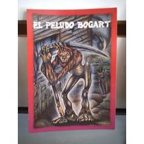 Tarjeta El Peludo Bogart Monstruos Del Bolsillo Vintage