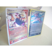 Pokemon Heatran Dp31 Y Deoxys 3/110.