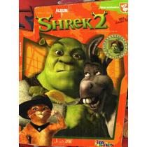 Album Imagics Shrek 2. Incompleto.