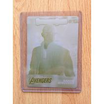 Tarjeta Avengers Era De Ultrón Placa De Impresión De Tarjeta