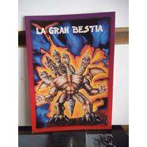 Tarjeta La Gran Bestia Monstruos Del Bolsillo Vintage
