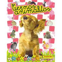 Álbum Tiernos Animalitos De Panini Lleno Y Sin Pegar