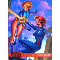 Black Canary Black Widow / Dc Vs Marvel Comics Cards 53