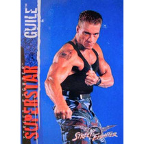 Guile / Street Fighter Movie / Anime / Tarjetas Y Cards