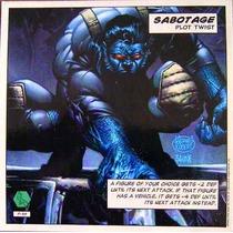 Beast / Marvel Comics / Cards Y Mega Tarjetas Showdown