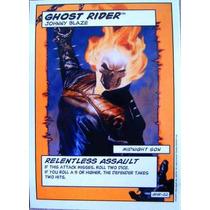 Ghost Rider / Marvel Comics / Cards Y Tarjetas Showdown