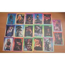 Lote Rockcards Ac/dc Antrax Cinderella Exodus Drockum 1991