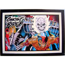 Wolverine / Marvel Comics Ghost Rider Cards G5 / Tarjeta