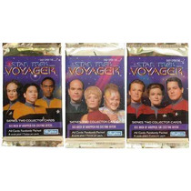 Star Trek Voyager Series 2 Collector Cards 24 Boosters Nuevo