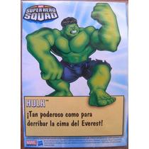 Hulk Marvel Super Heroes Squad Tarjeta Card