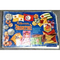 Album Coleccion Universal (banderas,escudos,monedas,mapas)