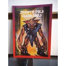 Tarjeta Juanito Pies Cuadrado Monstruos Del Bolsillo Vintage